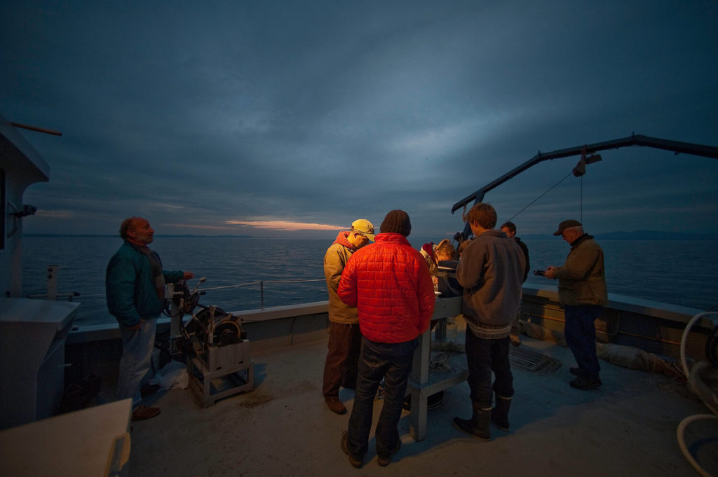 Experiential education on board UVM's teaching ship, Melosira